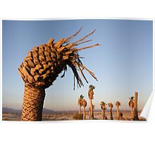 Pineapple Palm Tree Poster