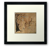 nocturnal excursions in an empty seaside Framed Print