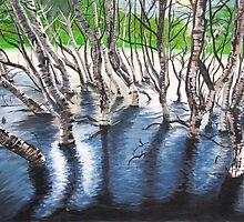 Zebra Treez by Brinaka N.