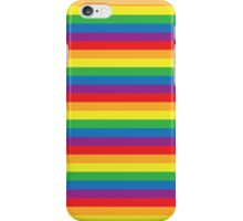 Gay Pride Colors - Ranbow Flag - Rainbow Stripes iPhone Case/Skin