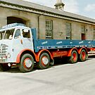Foden Lorry & Trailer by Edward Denyer