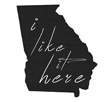 I Like it Here Georgia by surgedesigns