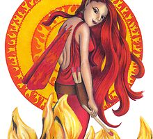 Fire Fairy by sarahpittman