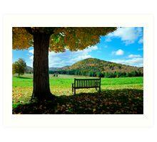 Fall Plains Art Print