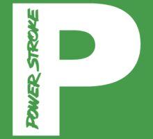PowerStroke White One Piece - Short Sleeve