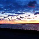 Morning Sunrise Lake Michigan by Dmarie Becker