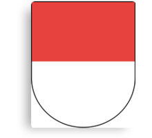 Coat of Arms of Solothurn Canton Canvas Print