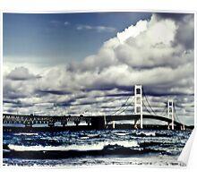 Mackinac Bridge SE Poster