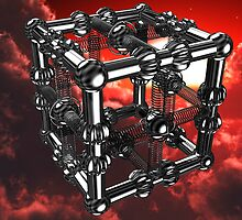 Cubenoid stadia cloud storm - a dedication to Duality's Digitals by digitalillusion