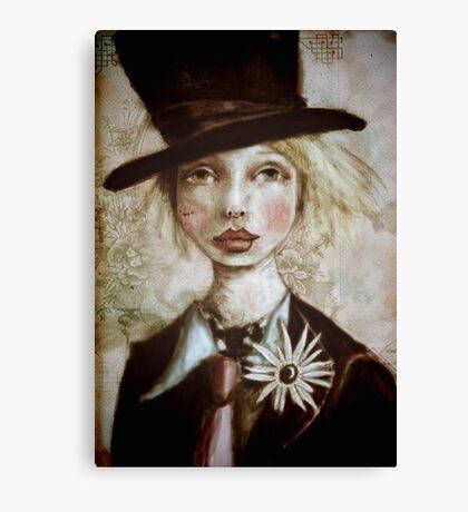 Mad Hatter in Wonderland Canvas Print