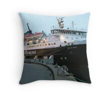 Preparing For Home Throw Pillow