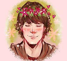 Flower Crown Sam by ZartbitterSalat
