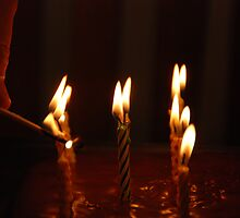 Birthday Candles by Vonnie Murfin