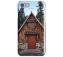Forest Chapel iPhone Case/Skin