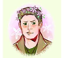Dean Flower Crown Photographic Print