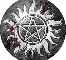 Grey Pentagram - Supernatural by Caim