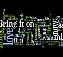 Bring It On - Word Cloud by silverdew
