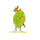 Leaf Friend by slugspoon