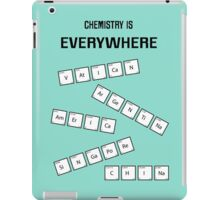 Chemistry Is Everywhere iPad Case/Skin