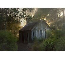 The slab hut . . . Photographic Print