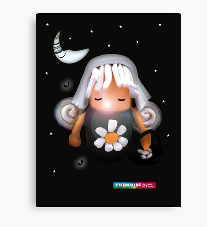 CHUNKIE Tooth Fairy Canvas Print