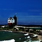 Round Island Light by Theodore Black