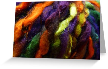 Colorful yarn by bubblehex08