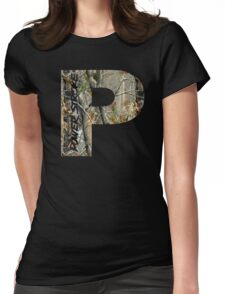 Powerstroke Camo Womens Fitted T-Shirt