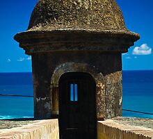 Puerto Rico Guard Post by Nick  Cardona