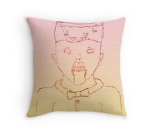 Fading Noises- Bowl Boy Throw Pillow