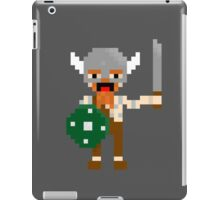 8-bit guys, Viking iPad Case/Skin