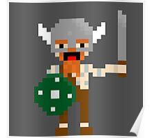8-bit guys, Viking Poster