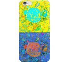 A Sequence of Toddler Turtles - Green & More iPhone Case/Skin