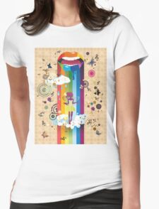 Surreal Fairy Womens Fitted T-Shirt