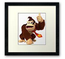 DK - Donkey Kong Framed Print