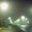 Cold Foggy Morning in Boorowa, NSW. by Arthur Richardson