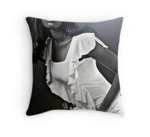 Anaiyah BW Throw Pillow