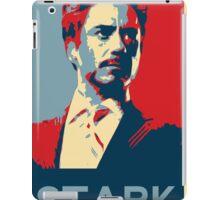 Tony Stark Propaganda iPad Case/Skin