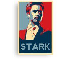 Tony Stark Propaganda Canvas Print