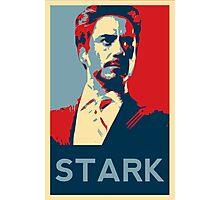 Tony Stark Propaganda Photographic Print