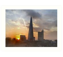 THE SHARD AT DAWN/COLLECTION I PAD/PHONE/ART/ETC Art Print