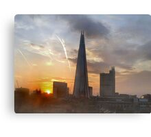 THE SHARD AT DAWN/COLLECTION I PAD/PHONE/ART/ETC Canvas Print
