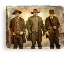 The Old West Relived Canvas Print