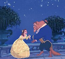 Beauty and the Beast by Poppy Rose  Skillen