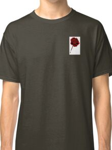 Black & Red Rose Classic T-Shirt