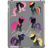 Monochrome Mane 6 Signed iPad Case/Skin