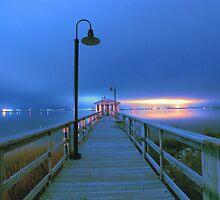 blue nights by Alexandr Grichenko