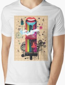 Surreal Fairy 2 Mens V-Neck T-Shirt