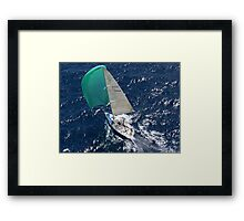 """Risk"" - Solitary Islands Race Framed Print"
