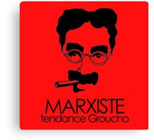 MARXISTE - tendance Groucho Canvas Print